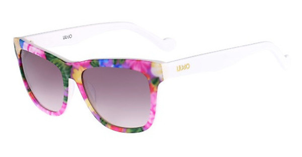 Liu Jo LJ628S 105 FLOWERS ON WHITE
