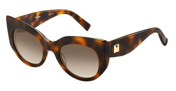 Max Mara MAXMARA GEM 2 05L/JD BROWN SFHAVANA (BROWN SF)