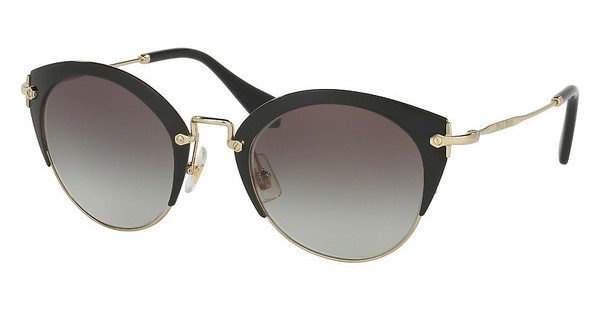 Miu Miu MU 53RS 1AB0A7 GREY GRADIENTBLACK/PALE GOLD