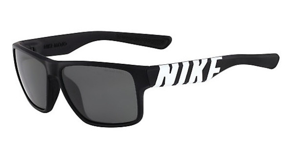 Nike NIKE MOJO EV0784 018 MATTE BLACK/WHITE WITH GREY LENS LENS