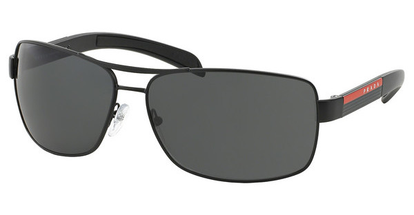 Prada Sport PS 54IS 1BO1A1 GRAYMATTE BLACK+BLACK RUBB.