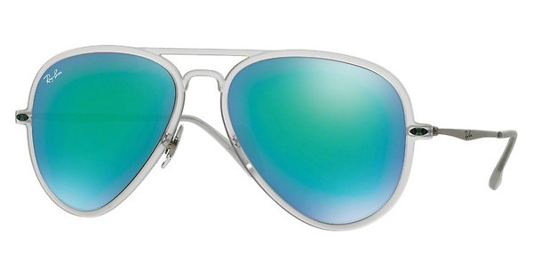 Ray-Ban RB4211 646/3R GREEN MIRRORMATTE TRANSPARENT