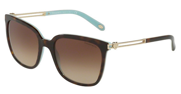 Tiffany   TF4138 81343B BROWN GRADIENTHAVANA/BLUE