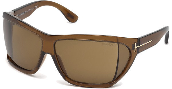 Tom Ford FT0402 48E braunbraun dunkel glanz