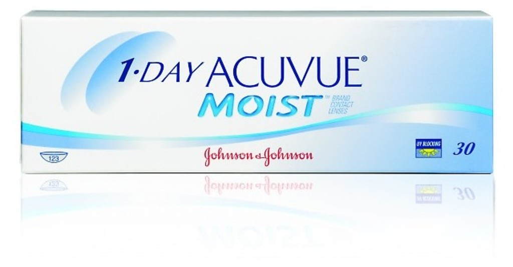 Johnson & Johnson   1 DAY ACUVUE MOIST 1DM-30P-REV