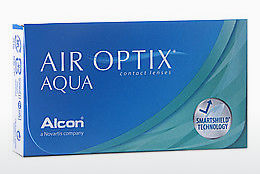 Lentile de contact Alcon AIR OPTIX AQUA (AIR OPTIX AQUA AOA3)
