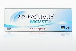 Lentile de contact Johnson & Johnson 1 DAY ACUVUE MOIST 1DM-90P-REV