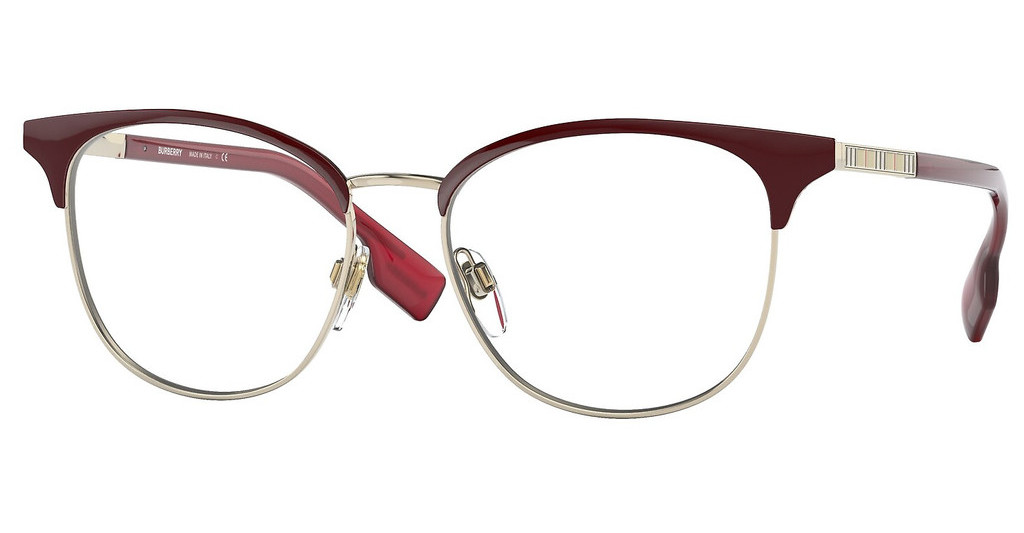 Burberry   BE1355 1319 LIGHT GOLD/BORDEAUX