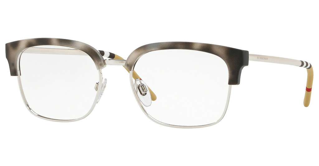 Burberry   BE2273 3534 MATTE GREY HAVANA/SILVER