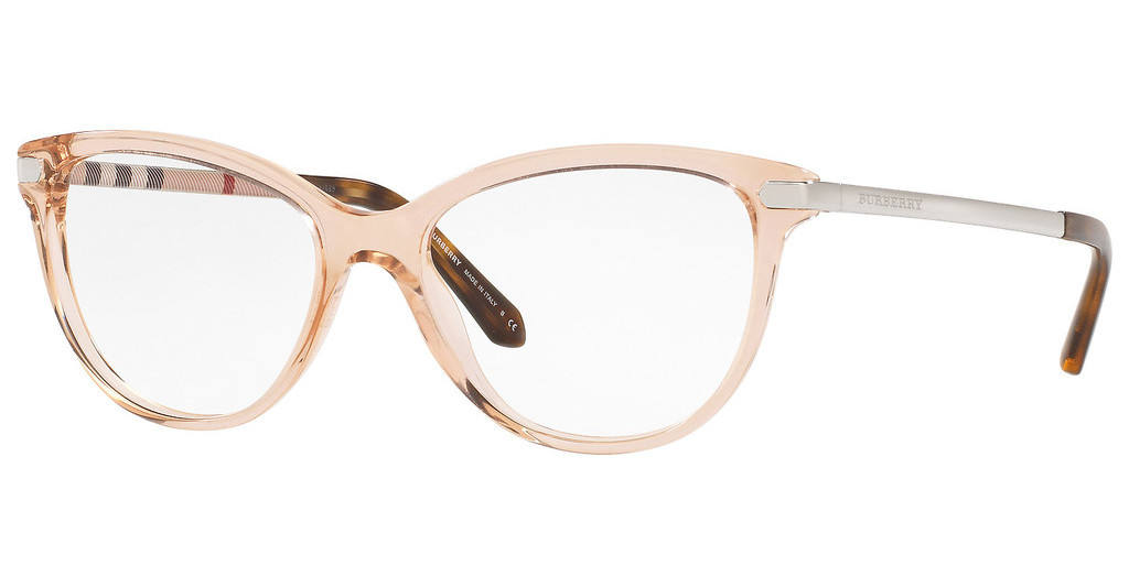 Burberry   BE2280 3358 TRANSPARENT PEACH