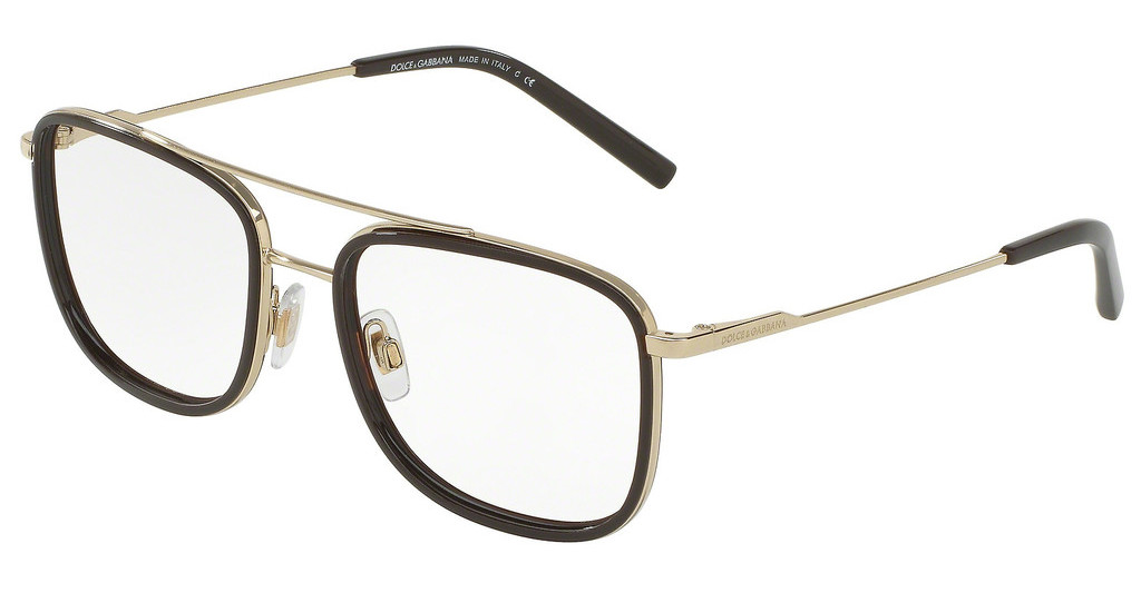 Dolce & Gabbana   DG1288 488 PALE GOLD/BROWN