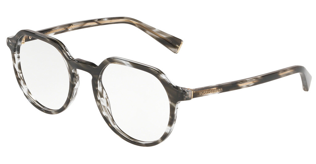 Dolce & Gabbana   DG3297 3220 STRIPED GREY