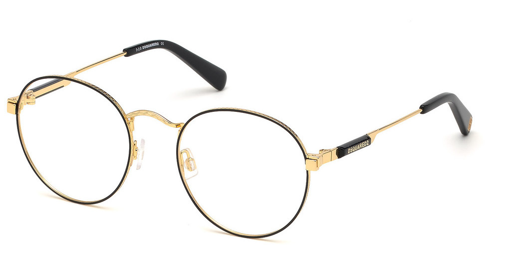 Dsquared   DQ5283 030 tiefes gold glanz