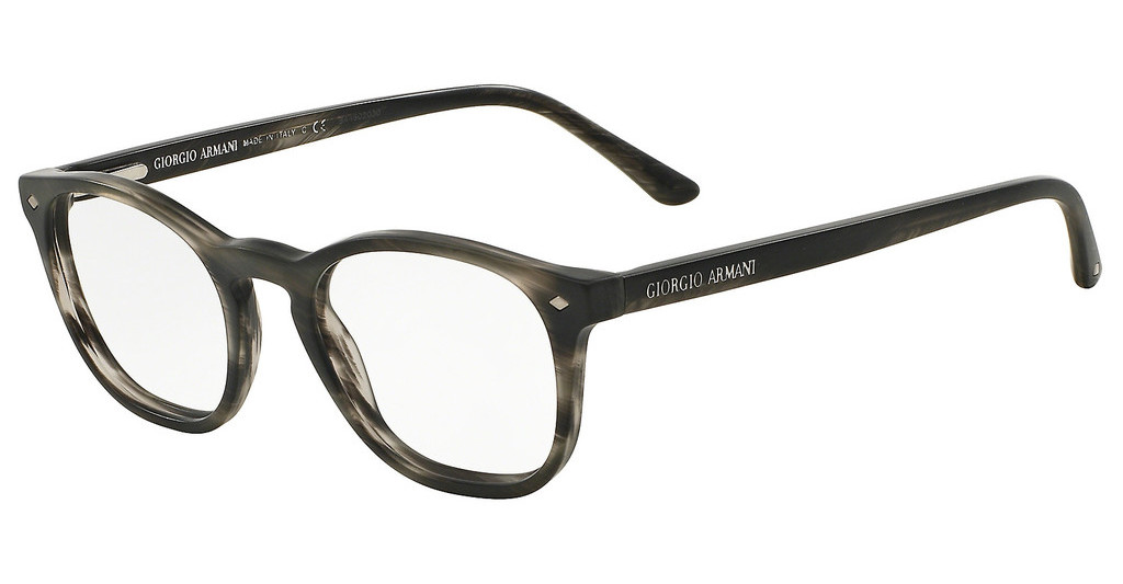 Giorgio Armani   AR7074 5403 STRIPED MATTE GREY