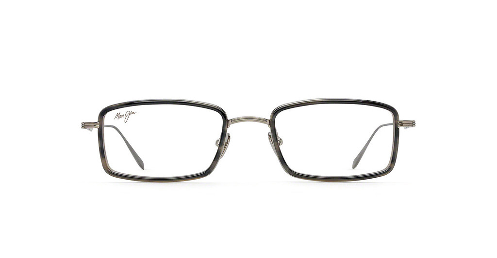 Maui Jim   MJO2421 02C Light Gunmetal with Grey Tortoise Acetate Rim