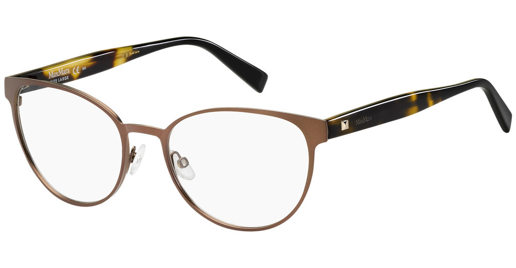 Max Mara   MM 1348 4IN MTT BROWN