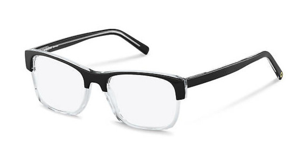 Rocco by Rodenstock   RR458 A black, crystal
