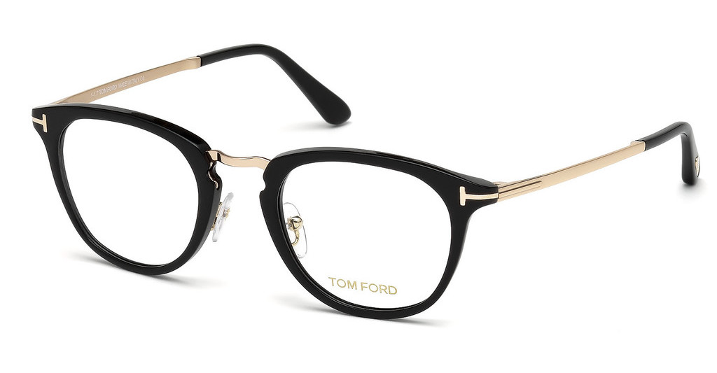 Tom Ford   FT5466 001 schwarz glanz