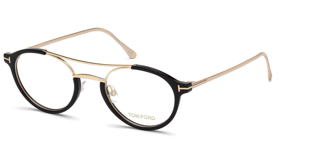Tom Ford   FT5515 001 schwarz glanz