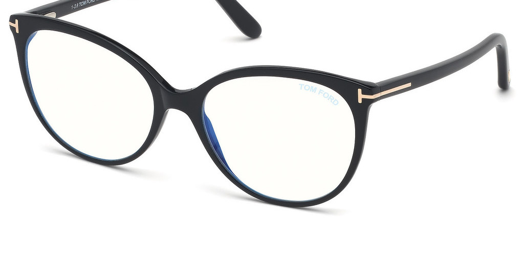 Tom Ford   FT5598-B 001 schwarz glanz