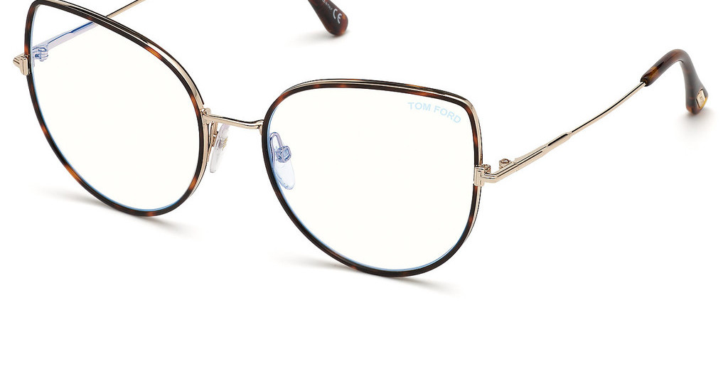 Tom Ford   FT5614-B 052 havanna dunkel