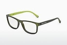 Ochelari de design Dolce & Gabbana OVER-MOLDED RUBBER (DG5003 2811) - Verde, Transparent