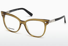 Ochelari de design Dsquared DQ5214 045 - Maro, Bright, Shiny