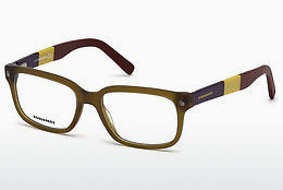 Ochelari de design Dsquared DQ5216 046 - Maro, Bright, Matt