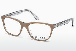 Ochelari de design Guess GU2585 059 - Fildeş, Beige, Brown