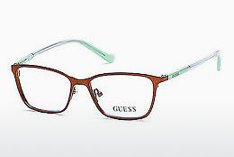 Ochelari de design Guess GU9154 046 - Maro, Bright, Matt