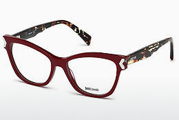 Ochelari de design Just Cavalli JC0807 069 - Roşu burgund, Bordeaux, Shiny