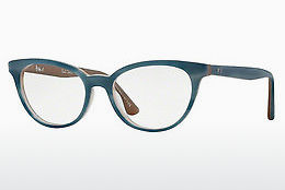 Ochelari de design Paul Smith JANETTE (PM8225U 1449) - Albastru, Transparent, Alb