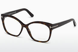 Ochelari de design Tom Ford FT5435 052 - Maro, Dark, Havana