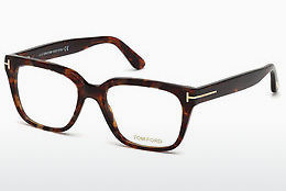 Ochelari de design Tom Ford FT5477 054 - Havana, Red