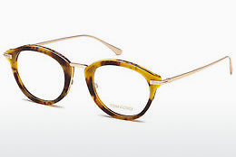 Ochelari de design Tom Ford FT5497 055 - Multicolor, Maro, Havana