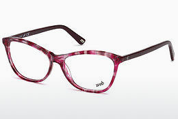 Ochelari de design Web Eyewear WE5215 054 - Havana, Red