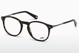Ochelari de design Web Eyewear WE5221 052 - Maro, Dark, Havana