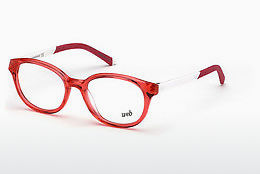Ochelari de design Web Eyewear WE5264 066 - Roşu, Shiny
