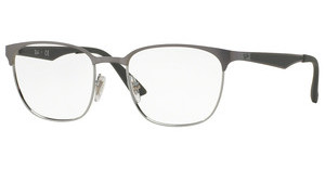 Ray-Ban RX6356 2874 TOP BRUSCHED GUNMETAL ON SILVE