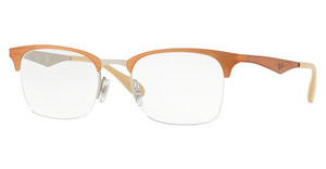 Ray-Ban RX6360 2920 SILVER TOP LIGHT BROWN
