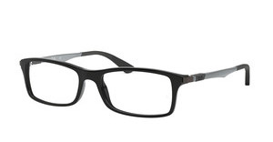 Ray-Ban RX7017 2000 SHINY BLACK