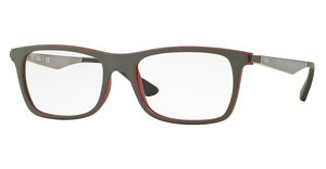 Ray-Ban RX7062 5576 TOP GREY ON MATTE BORDEAUX