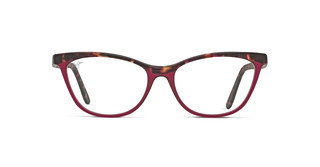 Maui Jim MJO2111 52A Matte Raspberry Tortoise with Raspberry