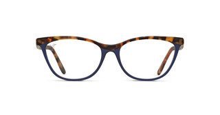 Maui Jim MJO2111 54B Matte Light Tortoise with Dark Blue