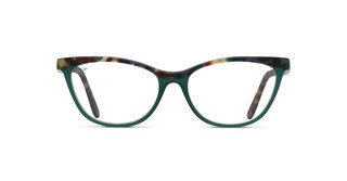 Maui Jim MJO2111 55A Matte Aquamarine Tortoise with Aquamarine