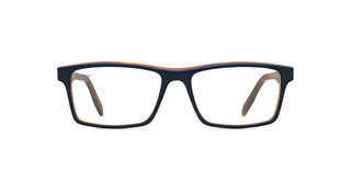 Maui Jim MJO2117 08SP Matte Navy with Rootbeer with Spear Core