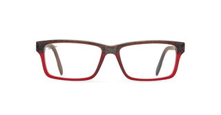 Maui Jim MJO2120 25D Wood Fade to Red