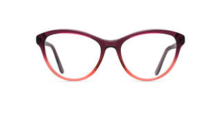 Maui Jim MJO2123 04E Purple Fade to Red Sangria Color