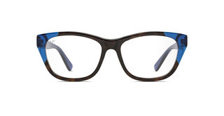 Maui Jim MJO2401 68SF Dark Tortoise with Translucent Blue with Sea Fan Core