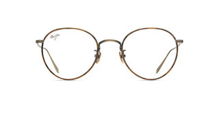 Maui Jim MJO2417 16C Antique Gold Matte with Brown Tortoise Eye Rim